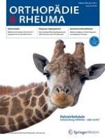 Orthopädie & Rheuma 1/2018
