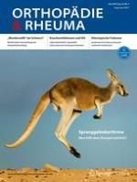 Orthopädie & Rheuma 3/2019