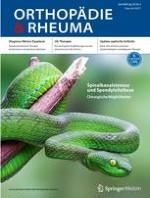 Orthopädie & Rheuma 3/2020