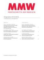 MMW - Fortschritte der Medizin 6/2016