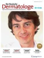 Der Deutsche Dermatologe 11/2019