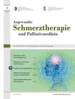 Angewandte Schmerztherapie und Palliativmedizin 4/2012