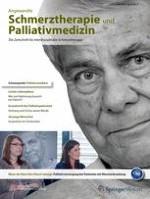 Angewandte Schmerztherapie und Palliativmedizin 2/2013