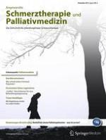Angewandte Schmerztherapie und Palliativmedizin 4/2013