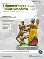 Angewandte Schmerztherapie und Palliativmedizin 3/2014