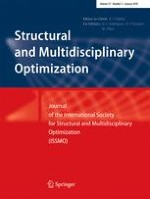 Structural and Multidisciplinary Optimization 1/2018
