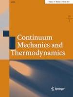 Continuum Mechanics and Thermodynamics 2/2021