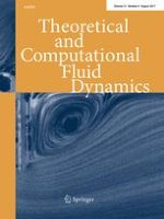 Theoretical and Computational Fluid Dynamics 4/2017