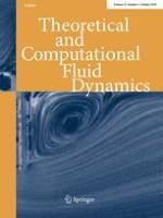 Theoretical and Computational Fluid Dynamics 5/2018