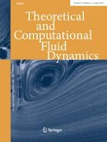 Theoretical and Computational Fluid Dynamics 3-4/2019