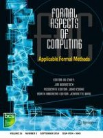 Formal Aspects of Computing 5/2014