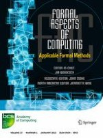 Formal Aspects of Computing 1/2015
