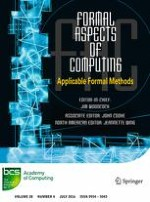 Formal Aspects of Computing 4/2016