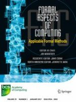 Formal Aspects of Computing 1/2017
