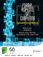Formal Aspects of Computing 2/2018