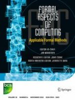 Formal Aspects of Computing 6/2018