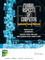 Formal Aspects of Computing 2/2019
