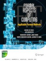 Formal Aspects of Computing 4-5/2021
