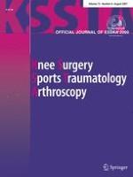 Knee Surgery, Sports Traumatology, Arthroscopy 8/2007