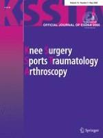 Knee Surgery, Sports Traumatology, Arthroscopy 5/2008