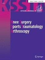Knee Surgery, Sports Traumatology, Arthroscopy 1/2009