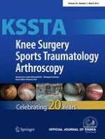 Knee Surgery, Sports Traumatology, Arthroscopy 3/2012