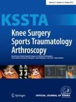 Knee Surgery, Sports Traumatology, Arthroscopy 10/2013