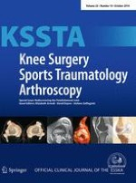 Knee Surgery, Sports Traumatology, Arthroscopy 10/2014