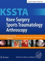Knee Surgery, Sports Traumatology, Arthroscopy 10/2016