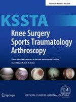 Knee Surgery, Sports Traumatology, Arthroscopy 5/2016