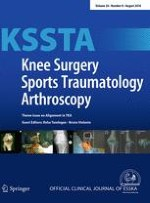 Knee Surgery, Sports Traumatology, Arthroscopy 8/2016