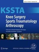 Knee Surgery, Sports Traumatology, Arthroscopy 9/2016