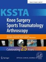 Knee Surgery, Sports Traumatology, Arthroscopy 4/2017
