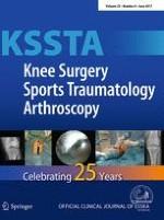 Knee Surgery, Sports Traumatology, Arthroscopy 6/2017