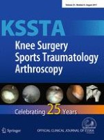 Knee Surgery, Sports Traumatology, Arthroscopy 8/2017