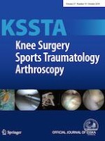 Knee Surgery, Sports Traumatology, Arthroscopy 10/2019