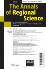 The Annals of Regional Science 1/2006