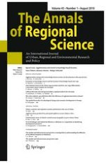 The Annals of Regional Science 1/2010