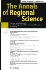 The Annals of Regional Science 1/2011