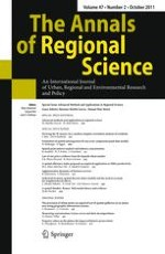 The Annals of Regional Science 2/2011