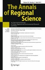 The Annals of Regional Science 2/2013