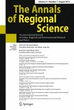 The Annals of Regional Science 1/2013