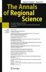 The Annals of Regional Science 1/2015