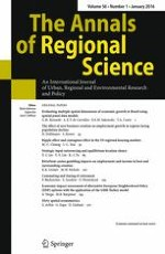 The Annals of Regional Science 1/2016
