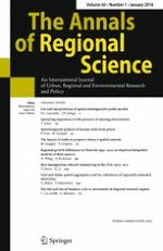 The Annals of Regional Science 1/2018