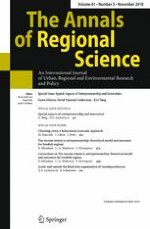 The Annals of Regional Science 3/2018