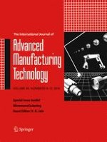 The International Journal of Advanced Manufacturing Technology 9-12/2016