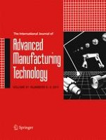 The International Journal of Advanced Manufacturing Technology 5-8/2017
