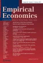 Empirical Economics 1/2011