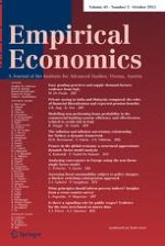 Empirical Economics 2/2011